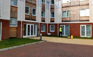 Commercial window cleaning 2